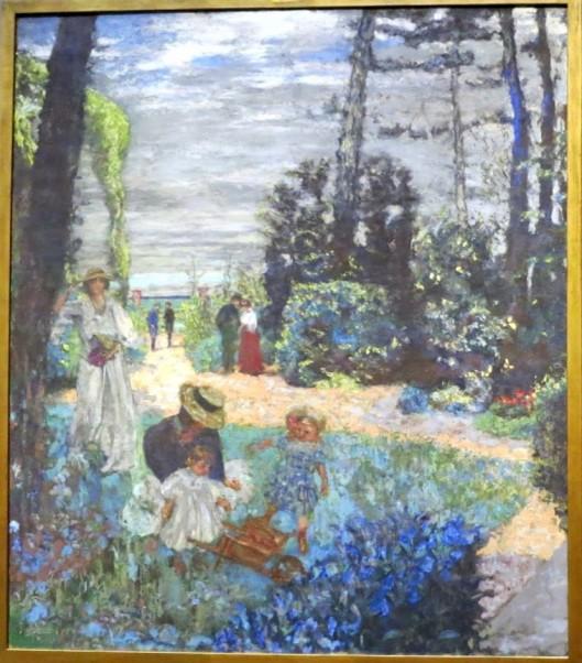 La Terrasse at Vasouy Edouard Vuillard